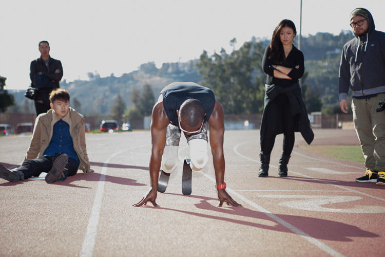 <p>When amputee athletes put on their running blades, they suddenly appear superhuman.</p>