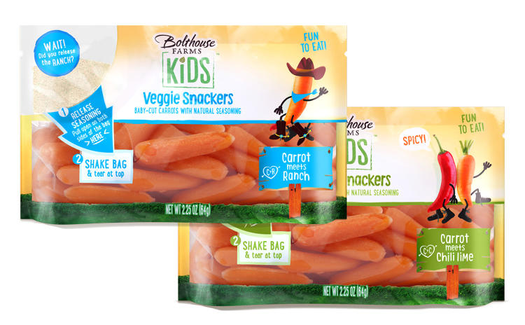 <p>Bolthouse Farms, one of the largest producers of baby carrots and juices in North America, is rolling out the new display across selected grocery stores.</p>