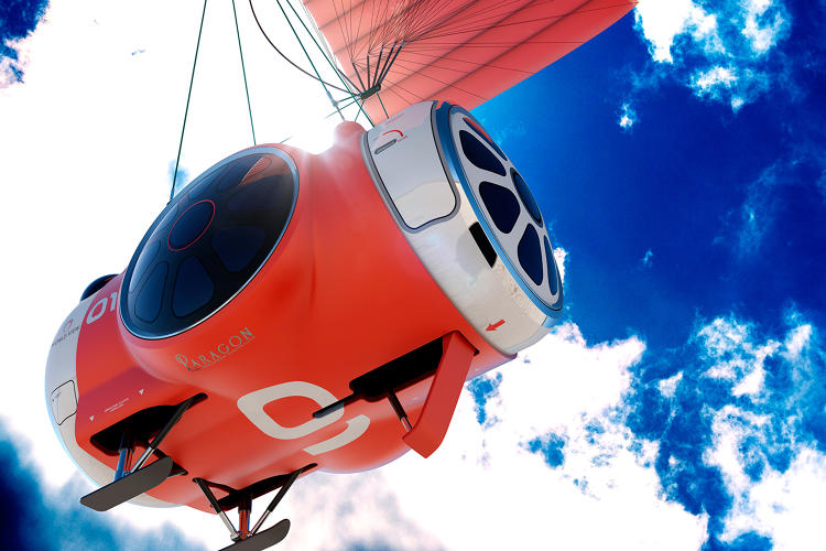 <p>World View Voyagers will be transported to the edge of space via a luxuriously styled pressurized space capsule.</p>