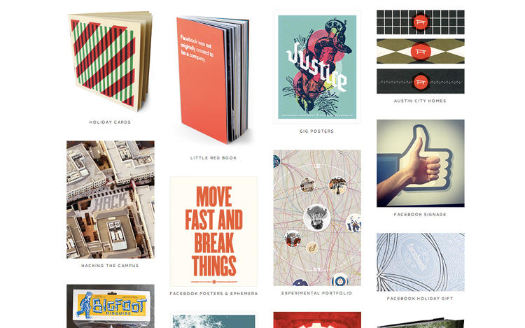 <p><strong>Facebook designer Ben Barry</strong> has one of the most visually effective portfolios. View <a href=&quot;http://designforfun.com/&quot; target=&quot;_blank&quot;> it here</a>.</p>