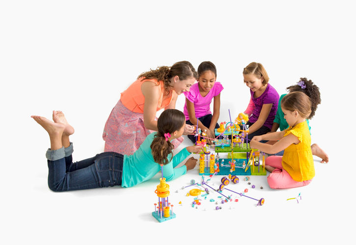 <p>When GoldieBlox sent the new blocks to customers, they came with a letter from Goldie explaining to kids how the blocks were redesigned from having a circular point of entry for axles to an octagonal shape--essentially, turning the company's failure into a learning experience for its young customers.</p>