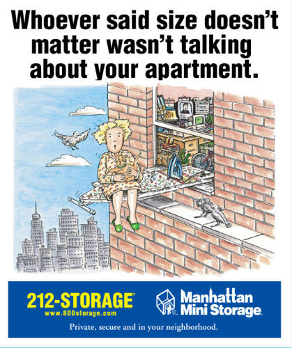 <p>The company has perfected its distinct, snarky voice with dozens of billboard ads that address hot button issues on New Yorkers' minds including gay culture, right wing politics, abortion rights, and perhaps most shockingly, why the Mets even bother calling themselves a professional team.</p>