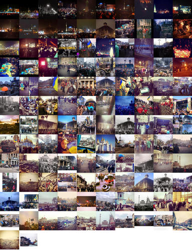 "<p>""You have the everyday and the exceptional. They co-exist, but in moments, the exceptional kind of takes over,"" says Manovich, who has specialized in visualizing large Instagram data sets.</p>"