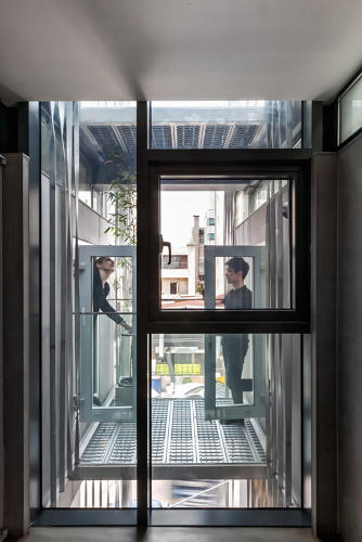 <p>Some are connected by a private balcony, which could be used to create a double apartment.</p>