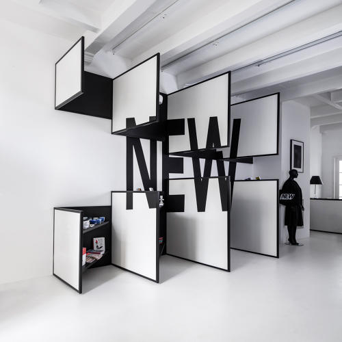 This shop is a walk in optical illusion co design for Optical store designs interior
