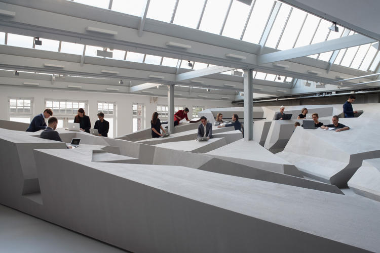 <p>A prototype of the office design is now on display in Amsterdam.</p>