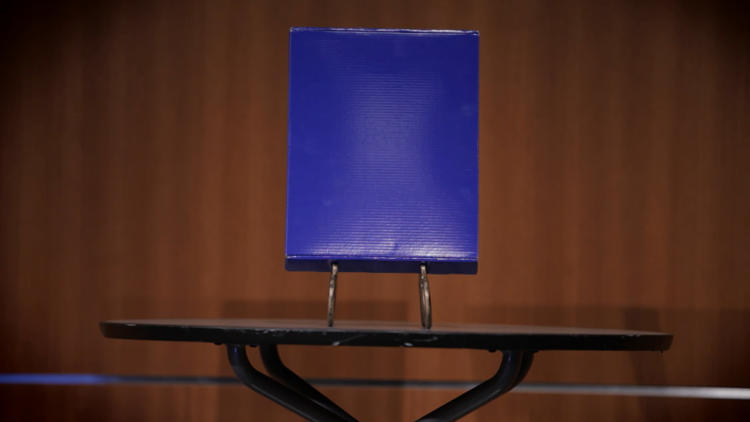 <p>Graduates of the red box get a blue box.</p>