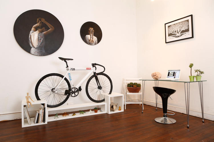 This Furniture Doubles As Beautiful Bike Storage For Tiny
