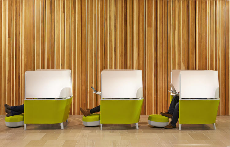 <p>Steelcase, the office furniture company, will soon be making such a cocoon.</p>