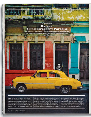 <p>Olson hopes the new Afar better encapsulates the magazine's mission to showcase the passion, energy, and excitement of travel. &quot;Afar is about immersing yourself, wherever you go,&quot; she tells me.</p>