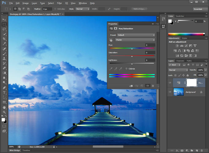 <p>Adobe Photoshop: Adobe's legendary photo editing and retouching software.</p>
