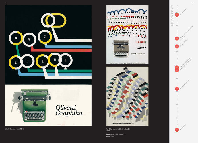 <p>&quot;He played a crucial role in defining the Olivetti brand by creating a wealth of exciting publicity material that helped transform what was a well-designed, but very practical, piece of office equipment into object of desire in its own right,&quot; she describes.</p>