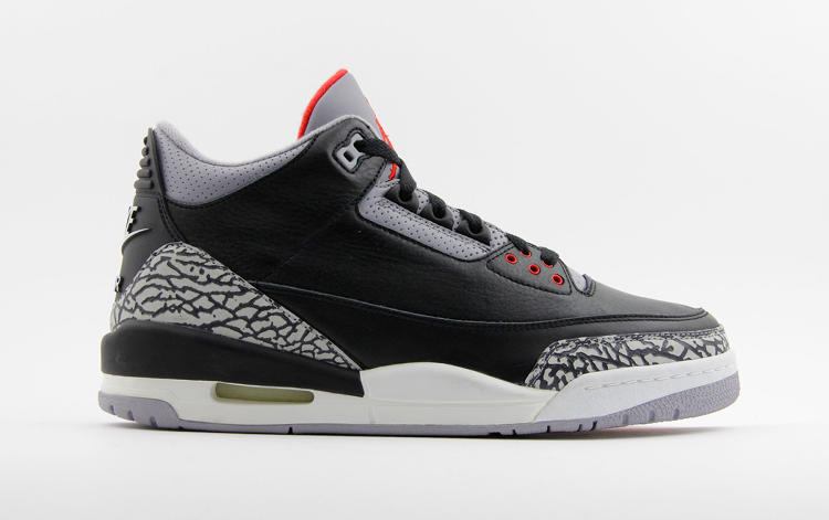 <p>Air Jordan III followed on Nike's collaboration with Michael Jordan on the game-changing Air Jordan line in 1985 when the basketball superstar's endorsement generated $100 million in sales.</p>  <p>Kosow Sneaker Museum (Electric Purple Chameleon, LLC)</p>
