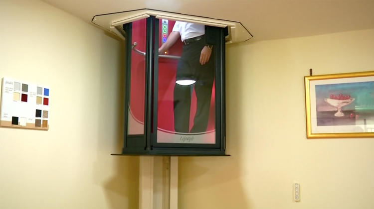 This amazing hilarious elevator can fit right into any for Personal elevators for the home