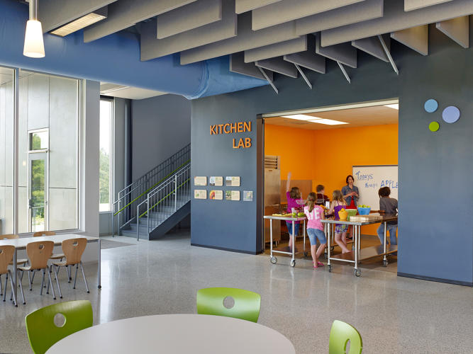 how smarter school architecture can help kids eat healthier food co