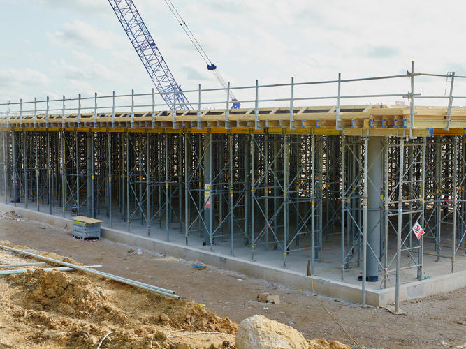 <p>Construction is underway on a $400 million technology campus adjacent to Dyson's Malmesbury, U.K. headquarters.</p>