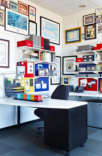 "<p>As CEO and founder of The Container Store, Kip Tindell has access to myriad organizing tools to keep his desk tidy, but he's very selective about what he uses. ""I like to keep my work surface as open and clutter-free as possible since I prefer to be out, interacting with others instead of cooped up in my office,"" he says.</p>"