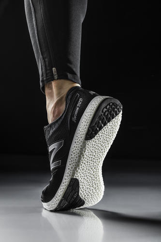 <p>In an attempt to appeal to design-conscious consumers, major athletic shoe brands like Nike and Adidas have <a href=&quot;http://www.fastcodesign.com/3051968/behind-the-brand/welcome-to-futurecraft-adidas-big-step-into-design-innovation&quot; target=&quot;_self&quot;>been investing</a> heavily in <a href=&quot;http://www.fastcodesign.com/1672004/nike-vapor-laser-talon-football-s-first-3-d-printed-shoes&quot; target=&quot;_self&quot;>3-D printing</a>. Now, New Balance is aiming to beat both Nike and Adidas to the finish line.</p>