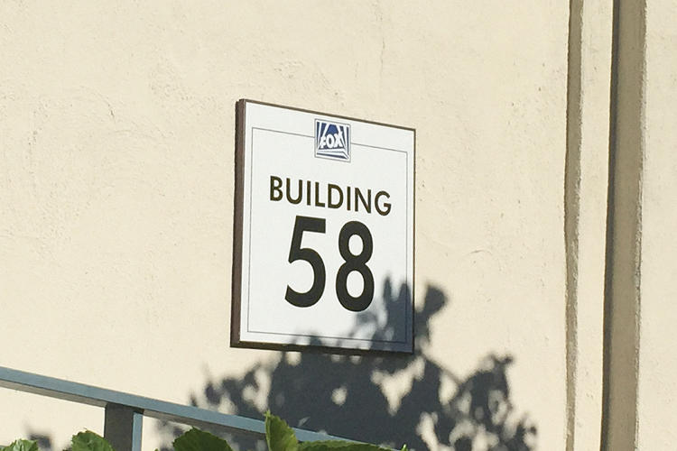 <p>Building 58, or &quot;the Bunker,&quot; where Fox's VR Innovation Lab is housed.</p>
