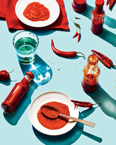 <p><a href=&quot;http://www.fastcompany.com/3050328/most-creative-people/hot-sauce-usa&quot; target=&quot;_self&quot;>Where once was Tabasco, there is now Sriracha, Cholula, and Gochujang. This is what the condiment aisle says about American consumers.</a></p>