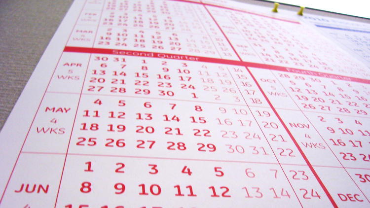 <p>Kenneth Flornes, real estate expert, keeps a board in his office with his goals for the year and looks at it every day. He also puts key milestone dates in his calendar to track his progress.</p>