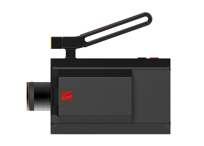 <p>Designed by Fuseproject, it fits classic Super 8 film cartridges.</p>