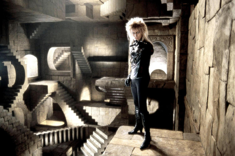 <p>What mention of David Bowie's iconic looks would be complete without mention of his turn as Jareth, the evil Goblin King from Jim Henson's <em>Labyrinth?</em></p>