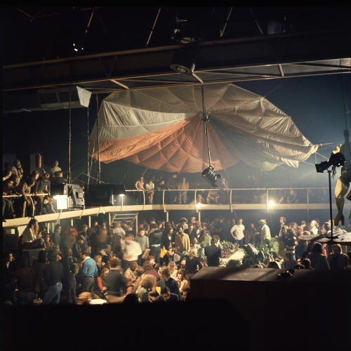 <p>Space Electronic during the Mondial Festival, co-organised by Gruppo 9999 and Superstudio, Space Electronic, Florence, 1971.</p>