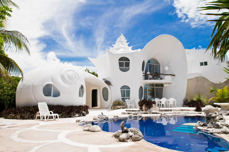 <p><a href=&quot;https://www.airbnb.com/rooms/530250&quot; target=&quot;_blank&quot;>The Seashell House</a> in Isla Mujeres, Mexico</p>