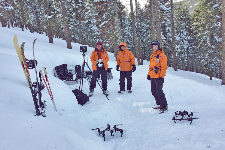 <p>At Homewood Mountain Resort in California, Cape has set up operations at &quot;The Igloo,&quot; where its pilots fly the drones alongside a run known as Last Resort.</p>
