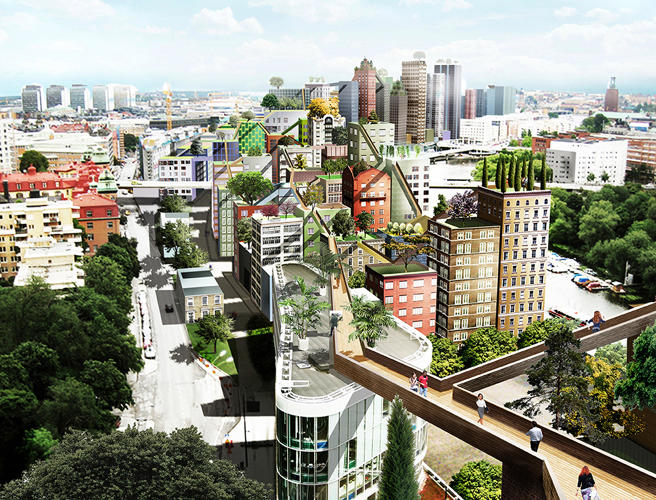 <p>Because Stockholm is built on islands with limited space, there's little room left to squeeze in the next million-plus residents.</p>