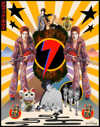 <p>&quot;Ziggy really sang…Screwed-up eyes and screwed-down hairdo…Like some cat from Japan…&quot;</p>