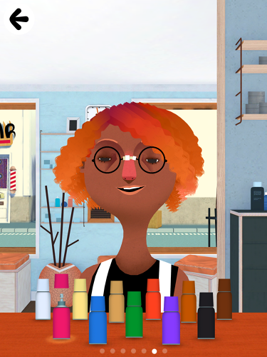 <p>Some of the characters in Toca Hair Salon are male or female, while there are others whose genders are ambiguous.</p>