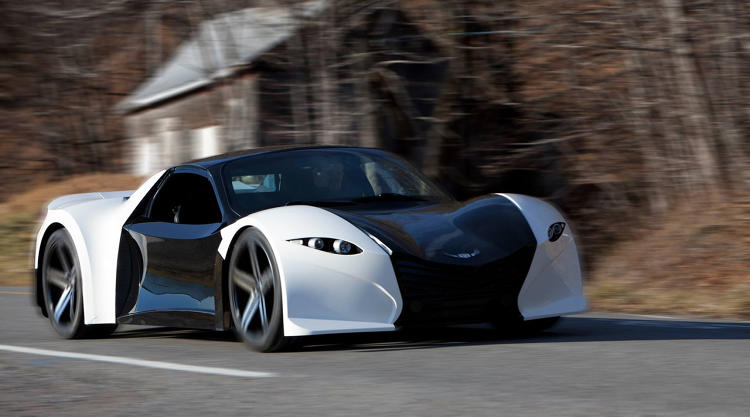 <p>The $110,000 car will go from 0 to 60 in about three seconds and have a top speed of 160 miles an hour.</p>
