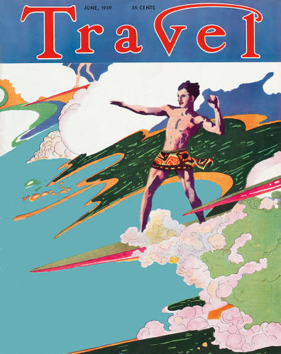 <p>Magazine cover, Travel, 1939</p>