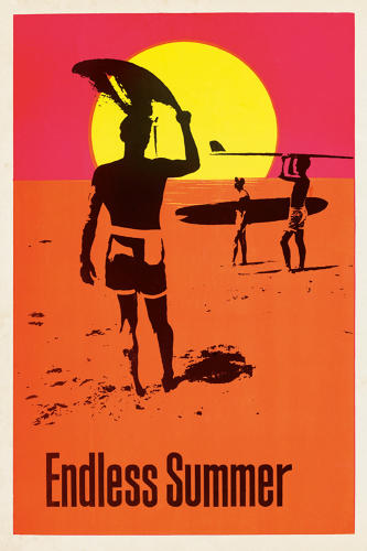 <p>Poster, The Endless Summer, 1966</p>