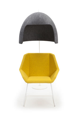 <p>The new felt dome, called the Tomoko, works with existing furniture.</p>