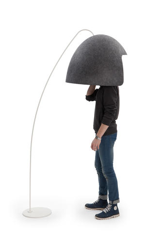 <p>Hate your open office?  A new hood-like dome is designed to give you a little privacy even when there aren't any walls nearby.</p>