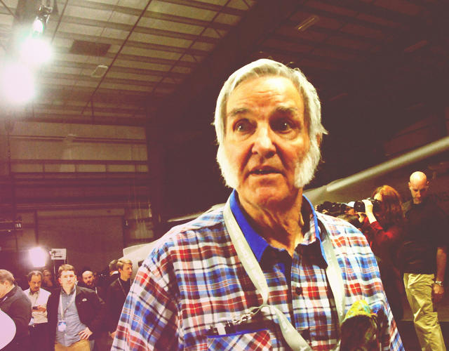 <p>Scaled Composites founder Burt Rutan, who designed SpaceShipOne, the craft that won the original X Prize.</p>