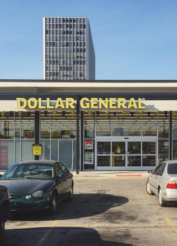 <p>Dollar General at Lafayette Park, 2015</p>
