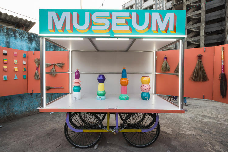 <p>When the first exhibit opened in February, it drew visitors from India Design Forum, the elite of the local design world.</p>