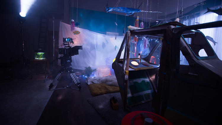 <p>Behind the scenes of the 2-minute long Greenpeace film, created by agency Don't Panic.</p>