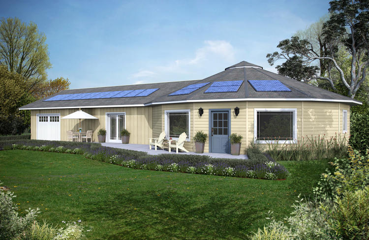 These 150 000 prefab houses don 39 t need any energy from for Deltec homes cost