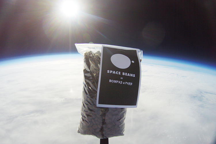 <p>They've even sent coffee beans to space.</p>