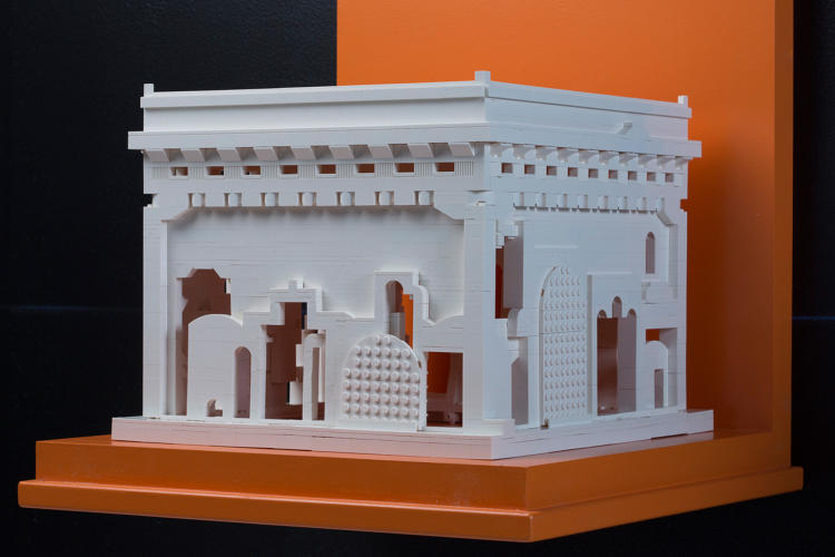 <p>Design With Company, based in Chicago, built a model it calls the <em>Institute for Gateway Preservation</em>.</p>