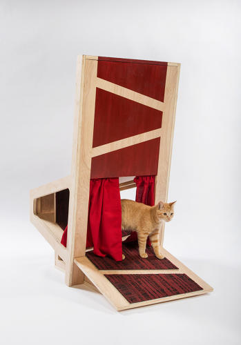 <p>&quot;Teatro de Gato offers our furry friends the chance to take the stage—or backstage—and for humans to take a seat,&quot; says <a href=&quot;http://www.pfeifferpartners.com/&quot; target=&quot;_blank&quot;>Pfeiffer Partners Architects</a>.</p>