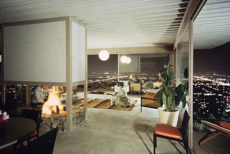 The birth of midcentury modernism as photographed by its for Family room los angeles