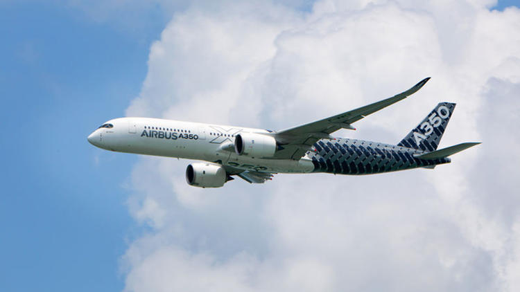 <p>The lighting system installed in the Airbus A380 XWB allows for 16.7 million different combinations of full-spectrum lights.</p>