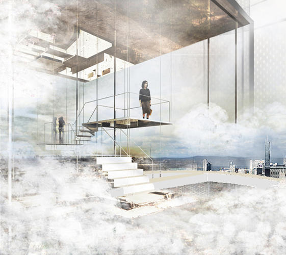 <p>Vienna-based architects Heri &amp; Salli imagined what a solar chimney might look like.</p>