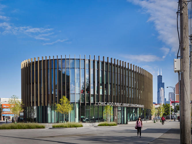 <p>Chicago Public Library, Chinatown Branch</p>